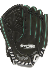 Rawlings Baseball Glove Black Green 11.50