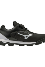 Mizuno Wave Finch Select 9 Jr. Softball Cleat Black/White