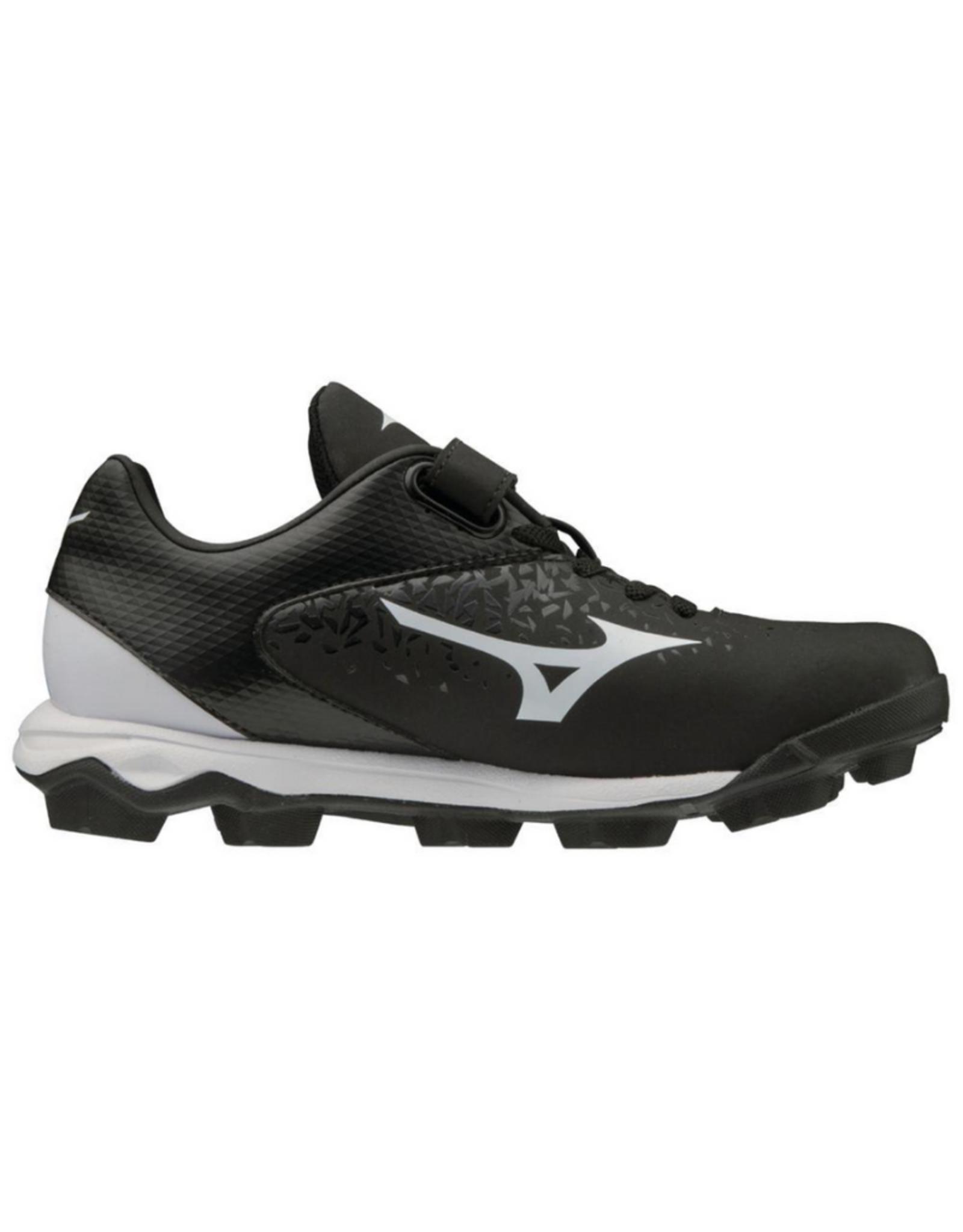 Mizuno Wave Finch Select 9 Jr. Softball Cleat Black/White