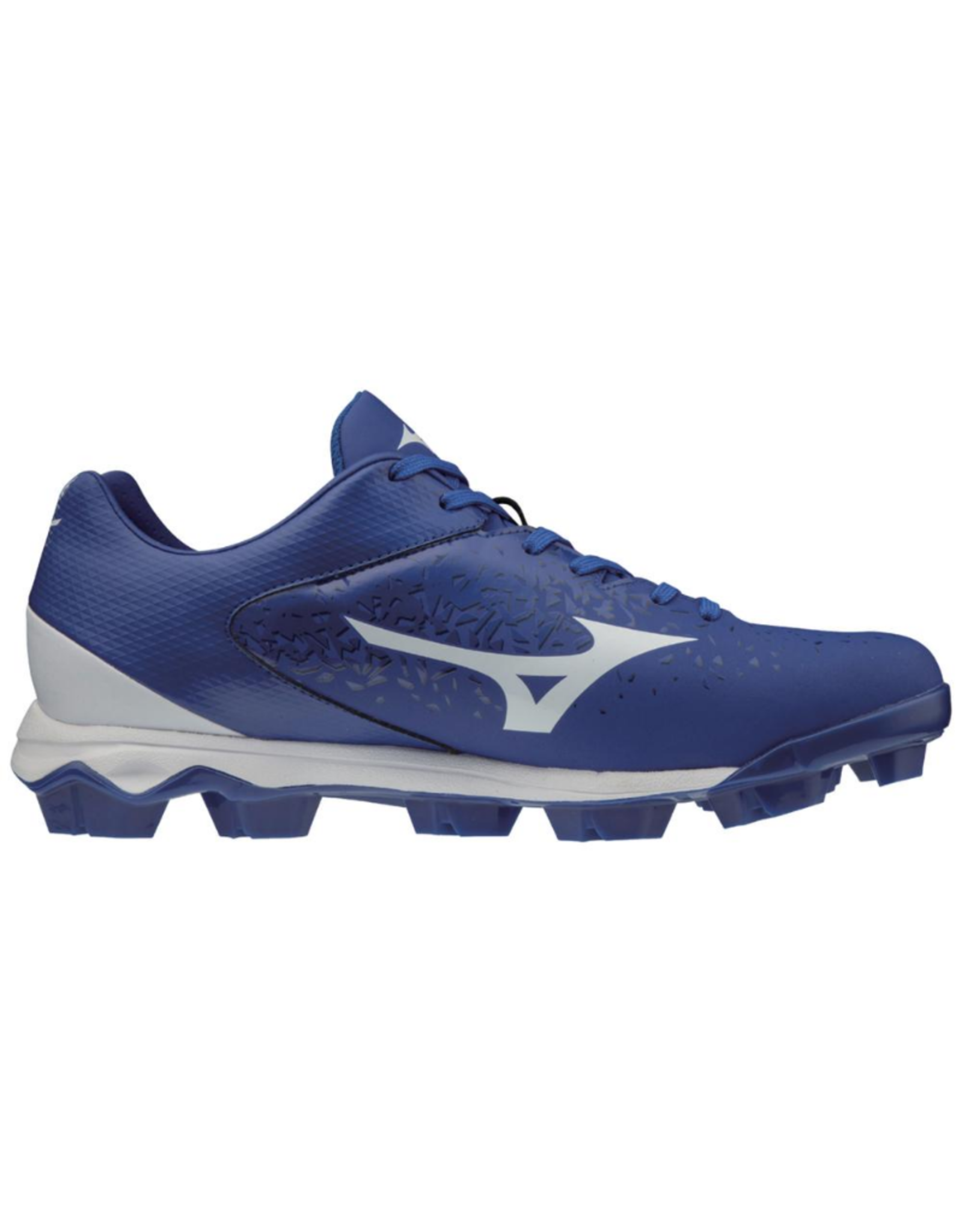 Mizuno Wave Select 9 Low Men's Baseball Cleat Royal/White