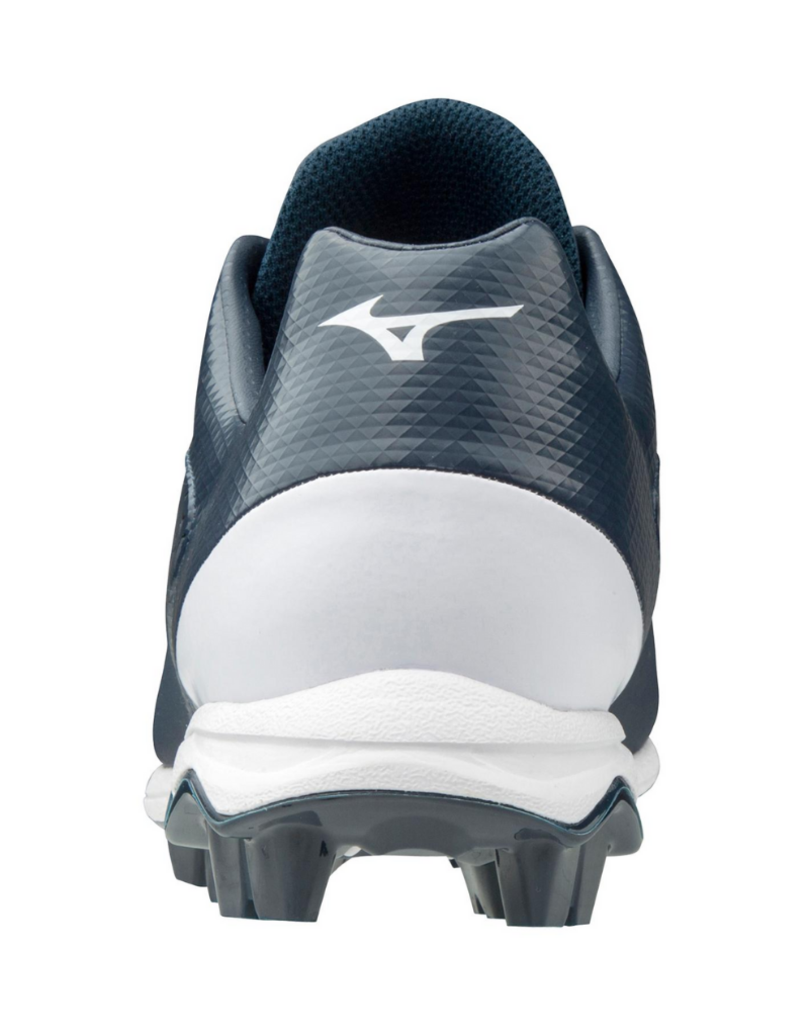 Mizuno Wave Select 9 Low Men's Baseball Cleat Navy/White