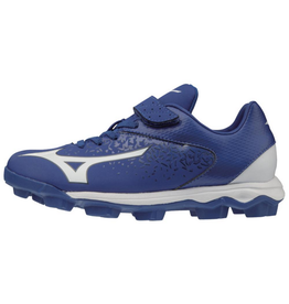 Mizuno Wave Select 9 Jr. Baseball Cleat Royal/White