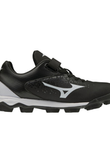 Mizuno Wave Select 9 Jr. Baseball Cleat Black/White