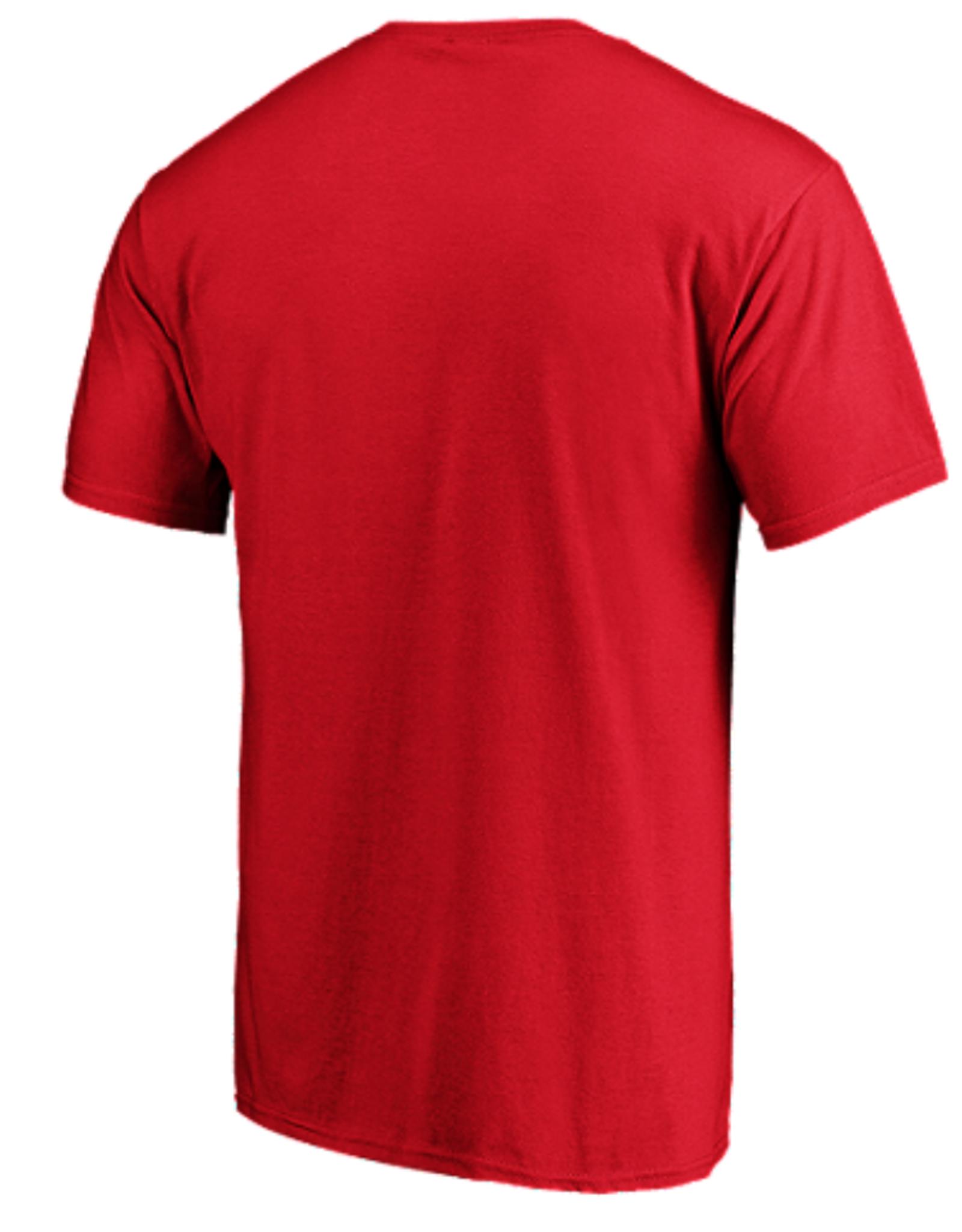 Fanatics Fanatics Men's Authentic Pro Prime T-Shirt Calgary Flames Red