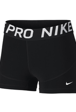 "Nike Women's Pro Short 3"" Black"