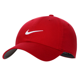 Nike Men's Heritage 86 Hat Red Adjustable