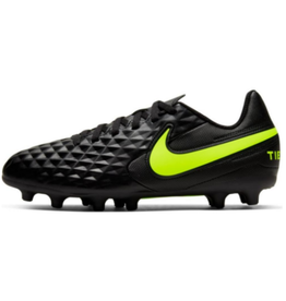 Nike JR Tiempo Legend 8 Club FG/MG Soccer Cleat Black