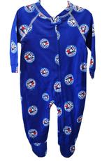 Outerstuff Toddler Raglan Zip Up Coverall Onesie Toronto Blue Jays