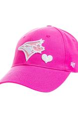 '47 Youth Sugar Sweet Hat Toronto Blue Jays Pink Adjustable