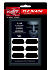 Rawlings Eye Black Stickers