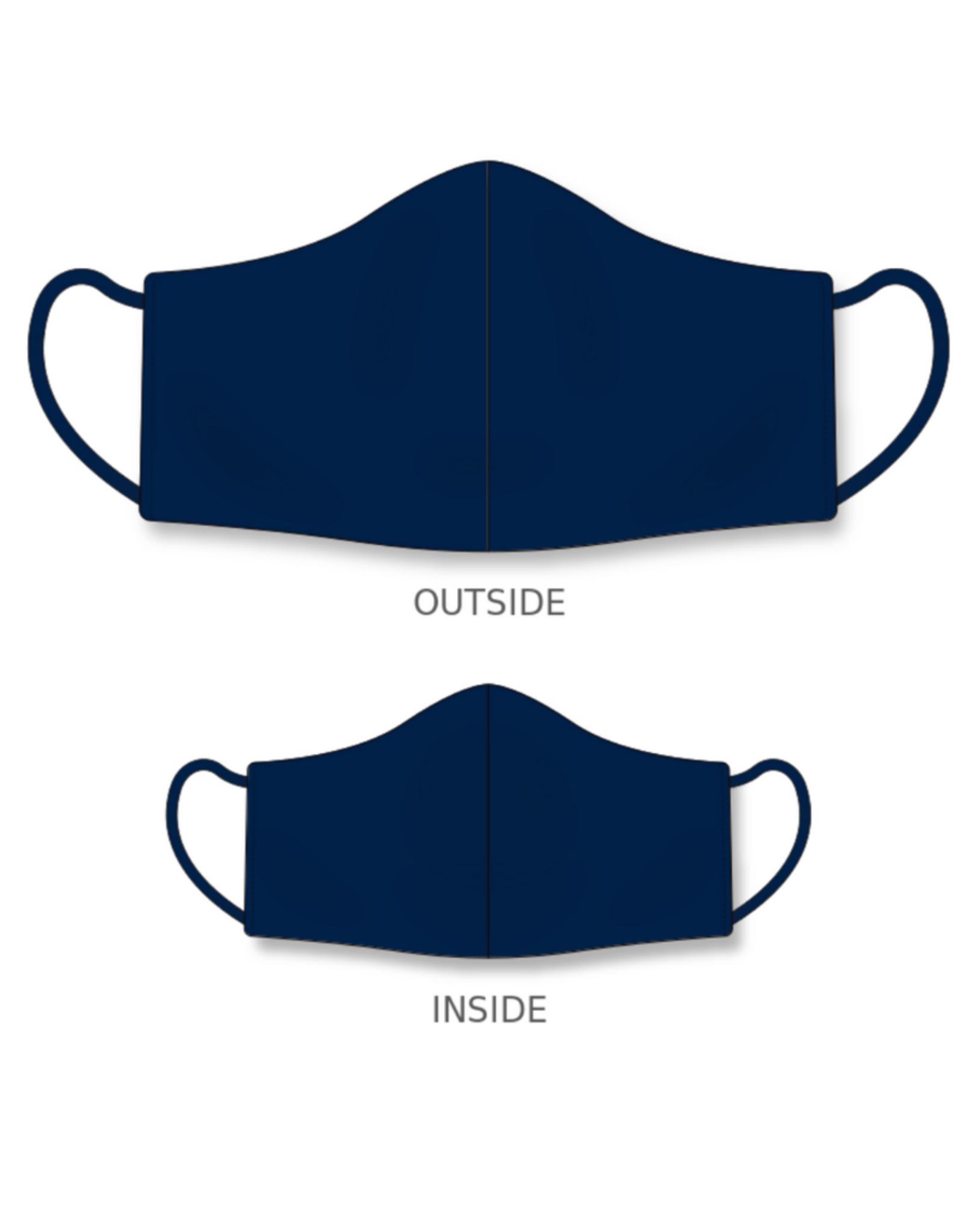 AK Reusable Fabric Face Mask Navy