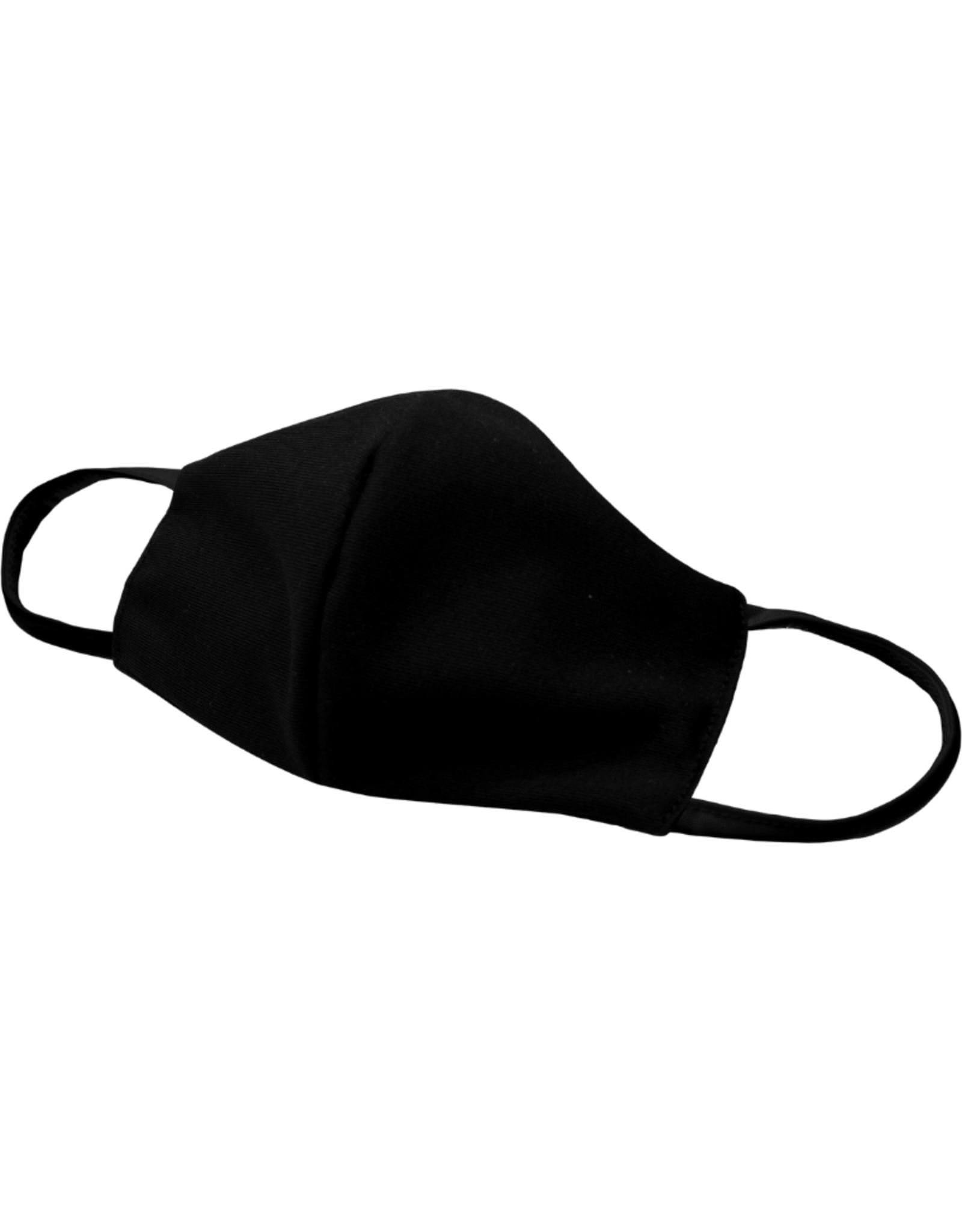 AK Reusable Fabric Face Mask Black
