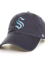 '47 Men's Clean Up Hat Seattle Kraken Navy  Adjustable