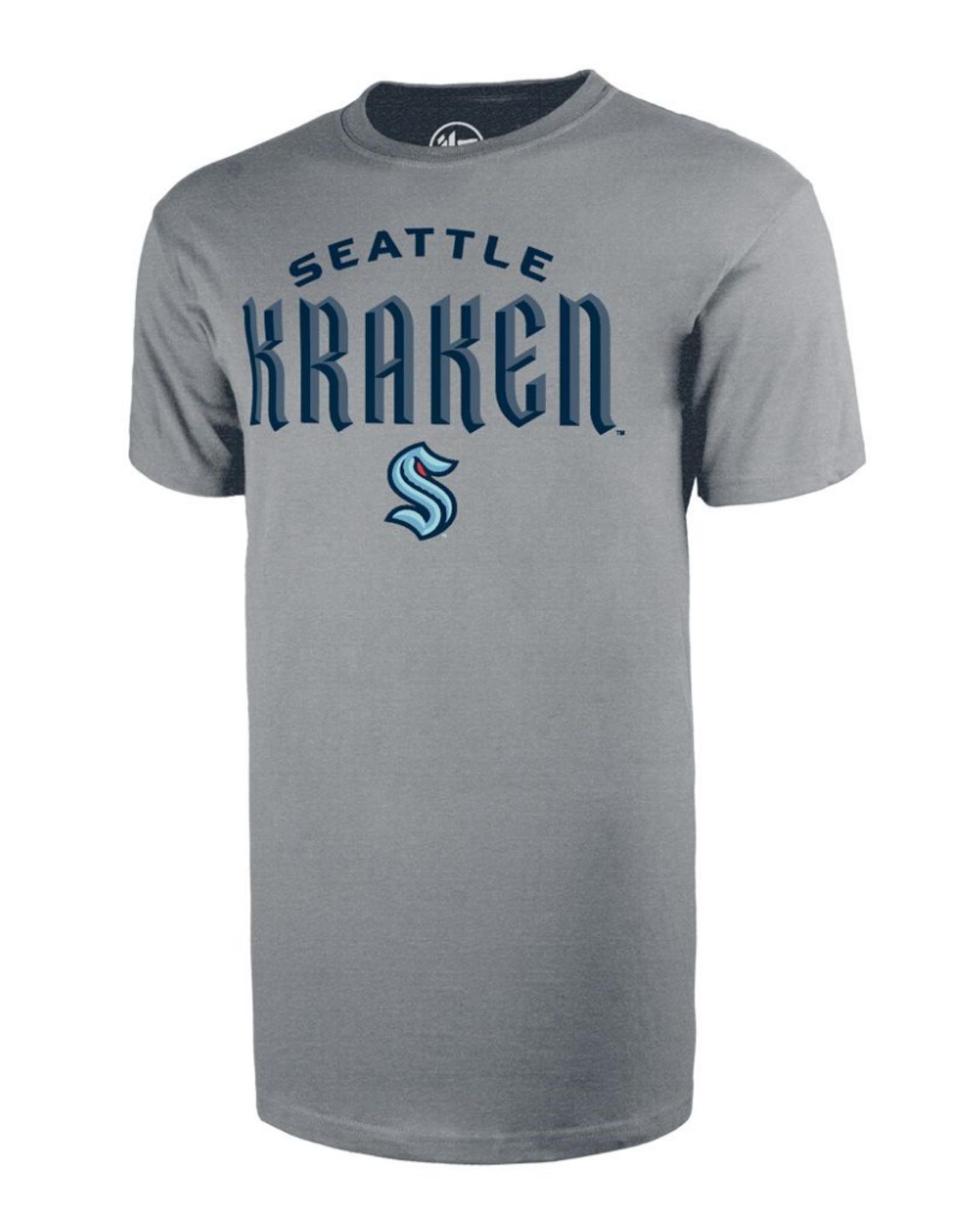 '47 Wordmark Men's T-Shirt Seattle Kraken Grey