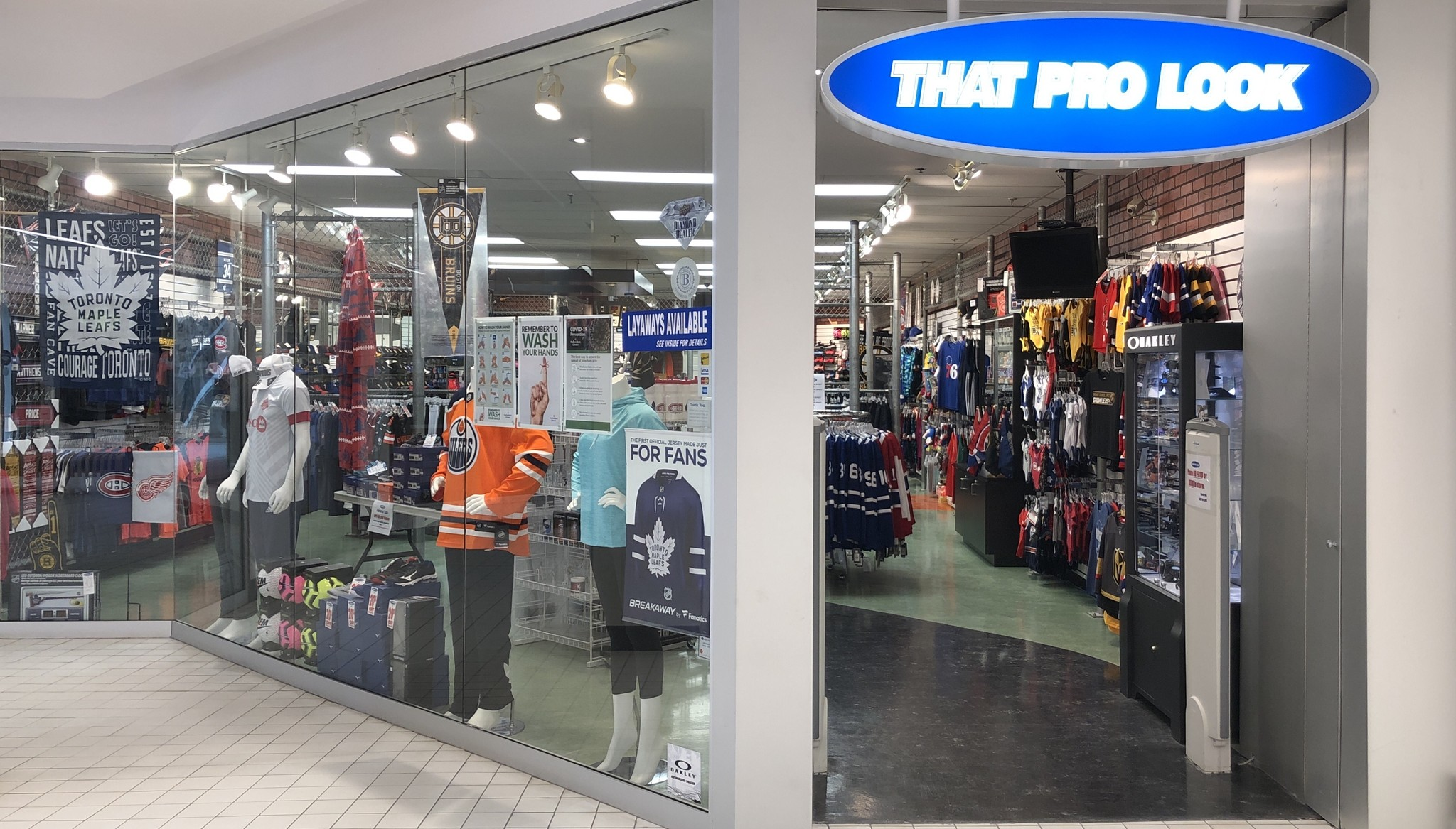 Avalon Mall Store Front