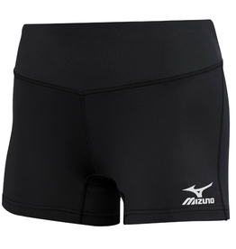 "Mizuno Women's Victory Short 3.5"" Black"