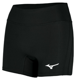 "Mizuno Women's Elevated Short 4"" Black"