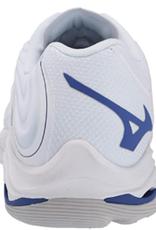Mizuno Women's Wave Lightning Z6 Shoe White/Blue