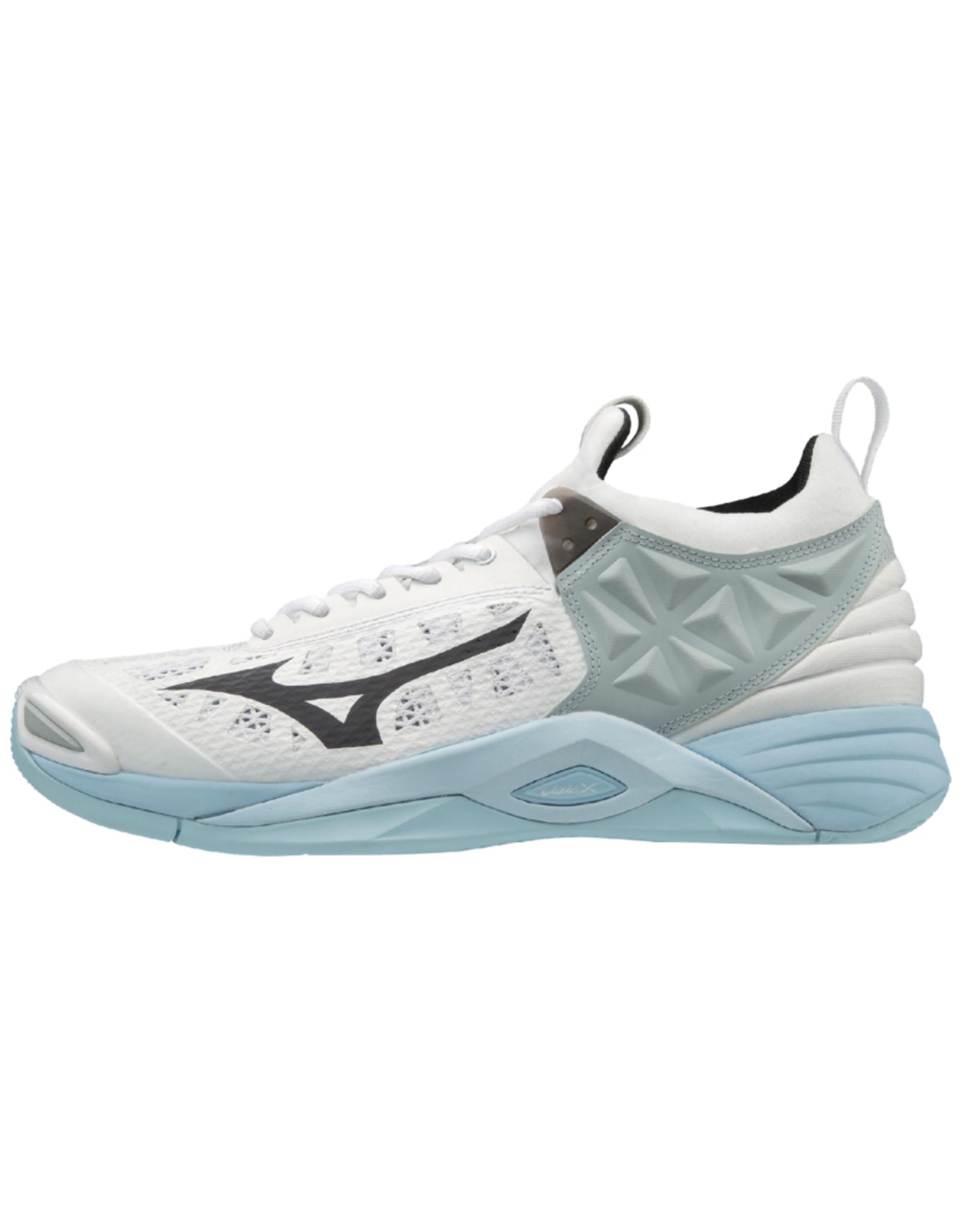 Mizuno Women's Wave Momentum Shoes White/Blue
