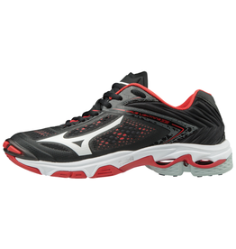 Mizuno Women's Wave Lightning Z5 Black Red