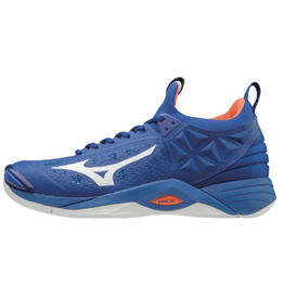 Mizuno Men's Wave Momentum Shoe Blue/Orange