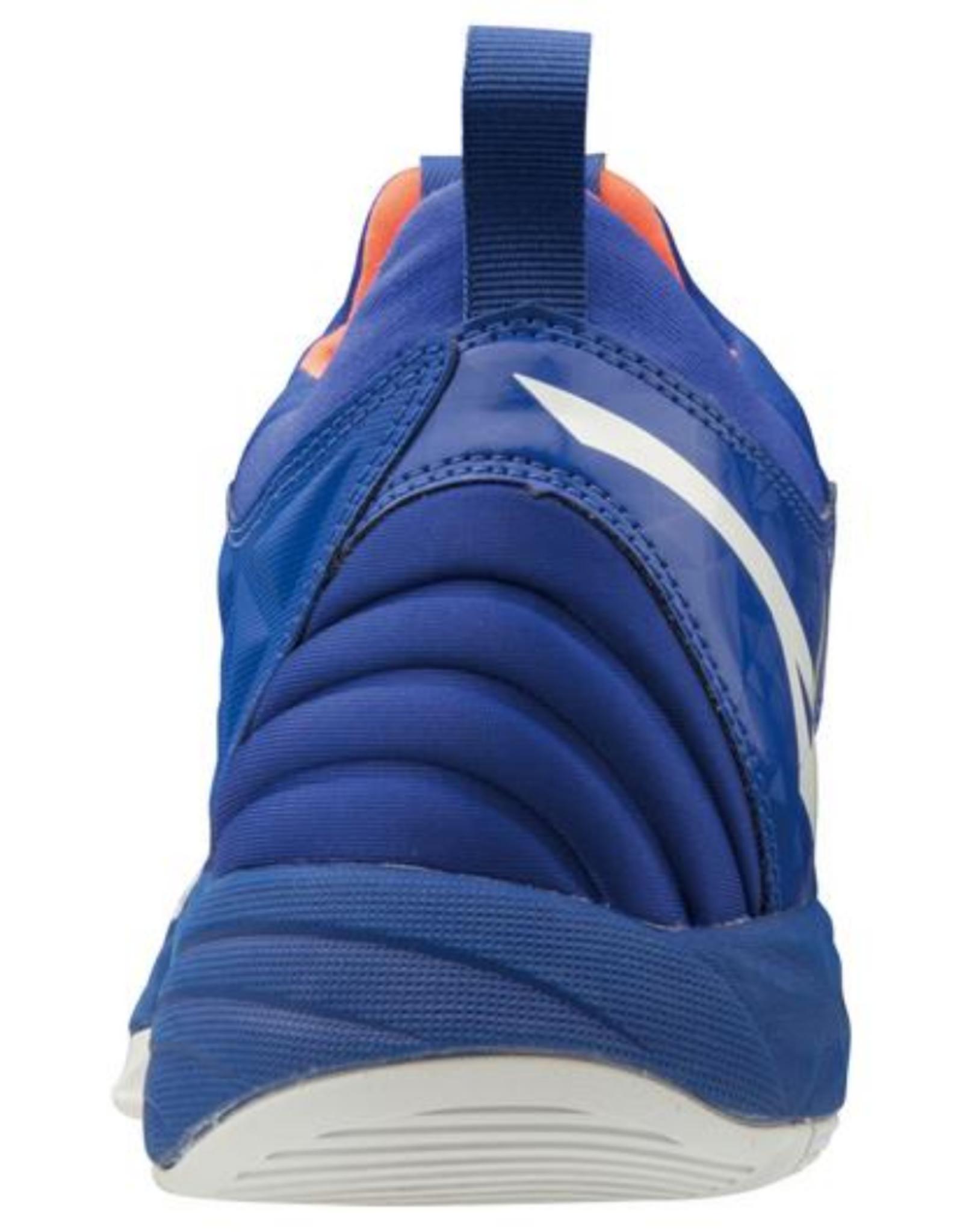 Mizuno Men's Wave Momentum Shoe Blue/Orange