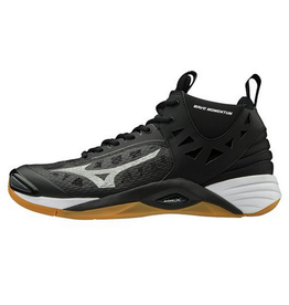 Mizuno Men's Wave Momentum Mid Black