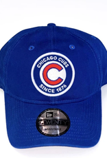 New Era Youth 920 Circle B1 Adjustable Hat Chicago Cubs Blue