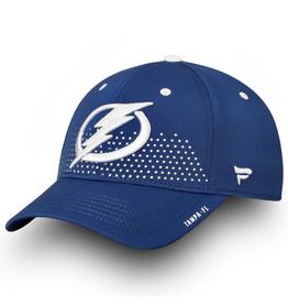 Fanatics Fanatics Men's '18 Draft Stretch Hat Tampa Bay Lightning Royal