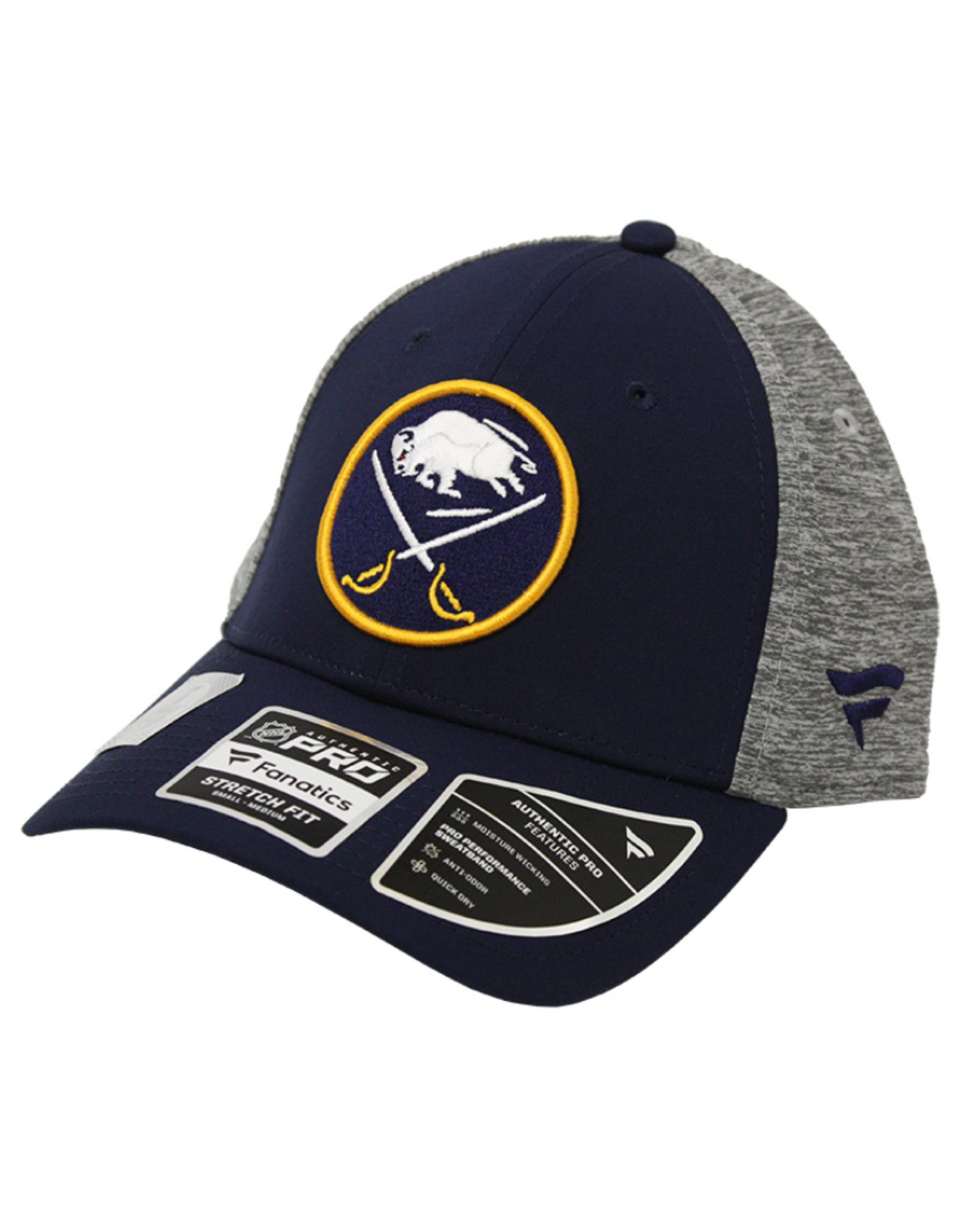 Fanatics Fanatics 2019 Player Participant Hat Buffalo Sabres Navy