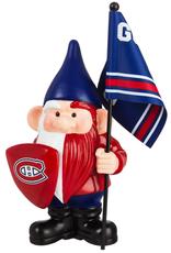 Team Sports America NHL Flag Holder Gnome Montreal Canadiens