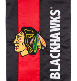 "Team Sports America NHL Embellish Regular Flag 28""X44"" Chicago Blackhawks"