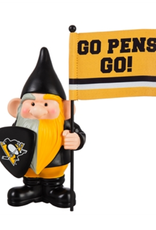 Team Sports America NHL Flag Holder Gnome Pittsburgh Penguins