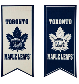 "Team Sports America NHL Flag Banner 12.5""x28"" Toronto Maple Leafs"