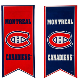 "Team Sports America NHL Flag Banner 12.5""x28"" Montreal Canadiens"