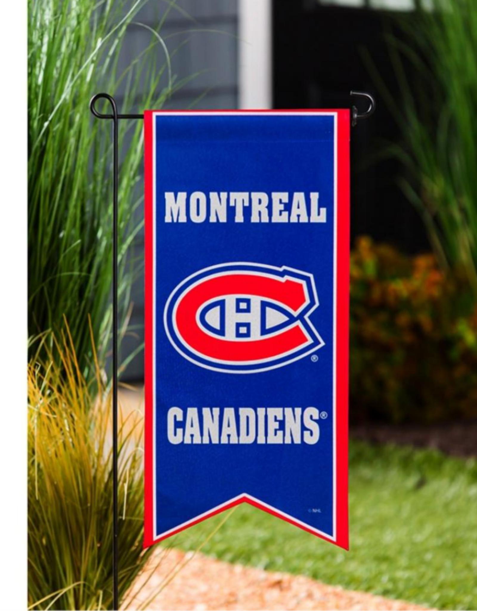 "Team Sports America NHL Flag Banner 12.5""x28"" Montreal Canadiens"