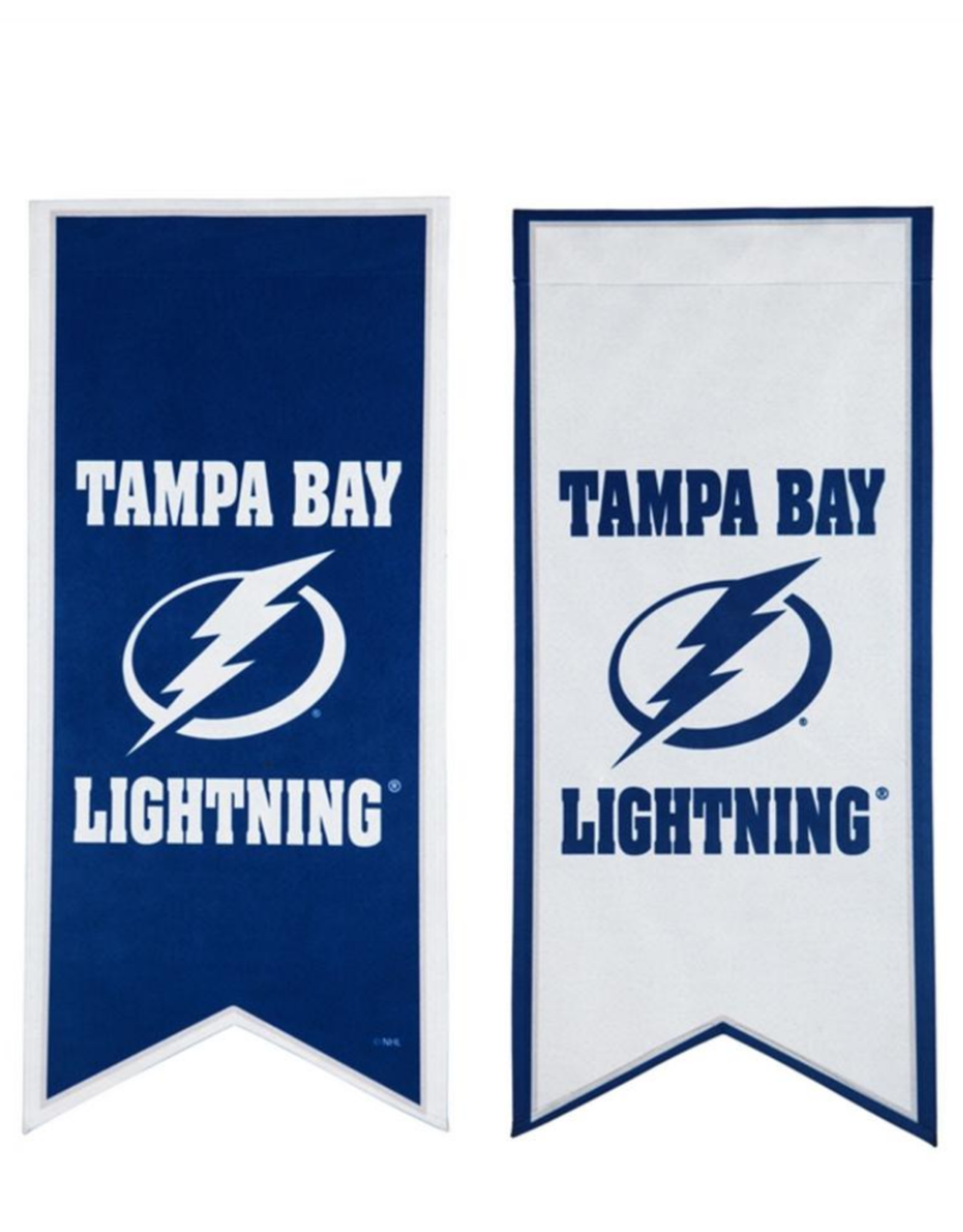 "Team Sports America NHL Flag Banner 12.5""x28"" Tampa Bay Lightning"