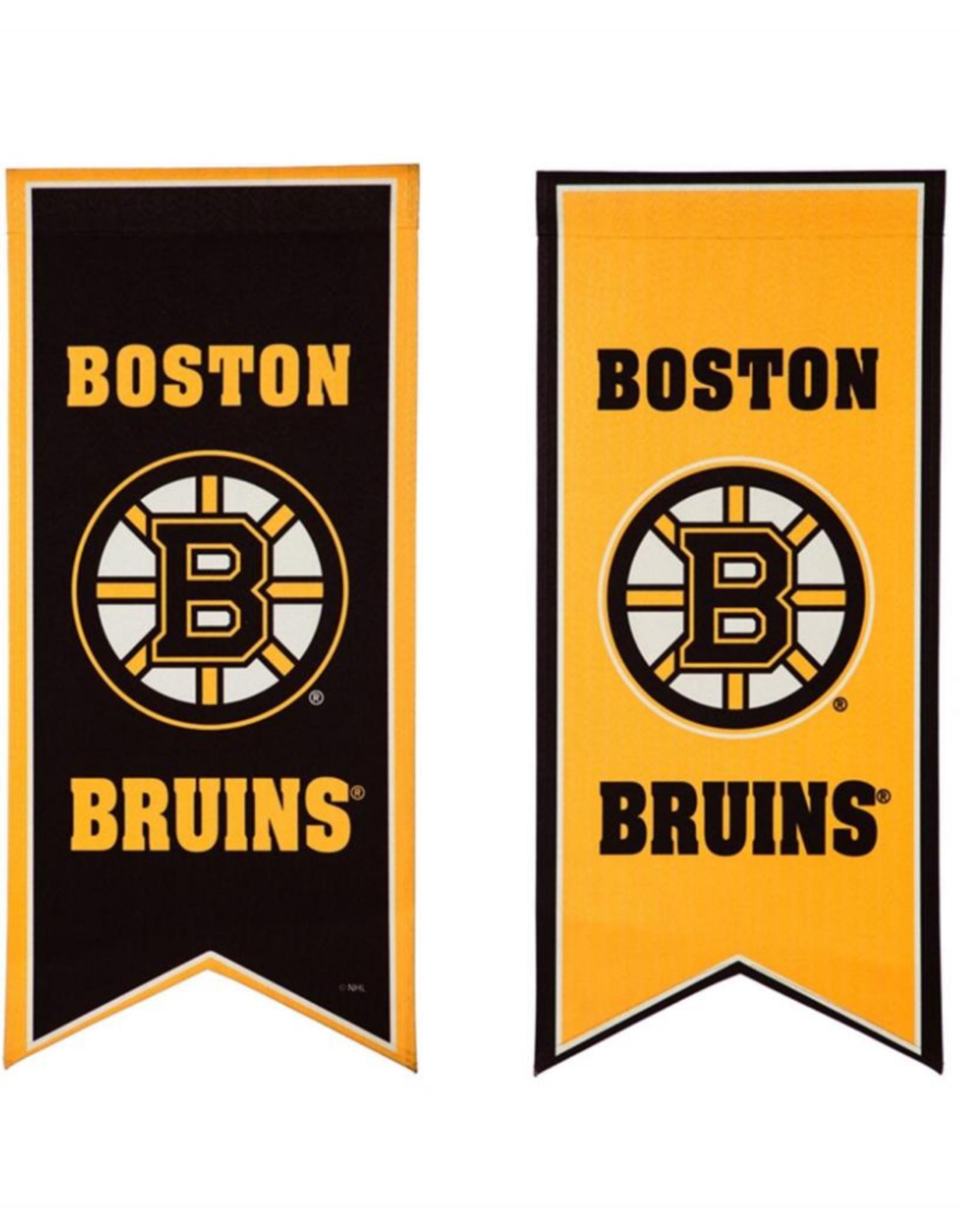 "Team Sports America NHL Flag Banner 12.5""x28"" Boston Bruins"