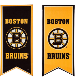 "Team Sports America NHL Flag Banner 12.5""x28"" Boston Bruins"