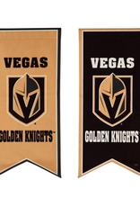 "Team Sports America NHL Flag Banner 12.5""x28"" Vegas Golden Knights"