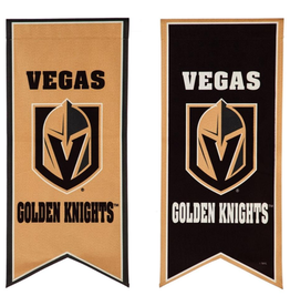 "Team Sports America NHL Flag Banner 12.5""x28"" Vegas Golden Knights"