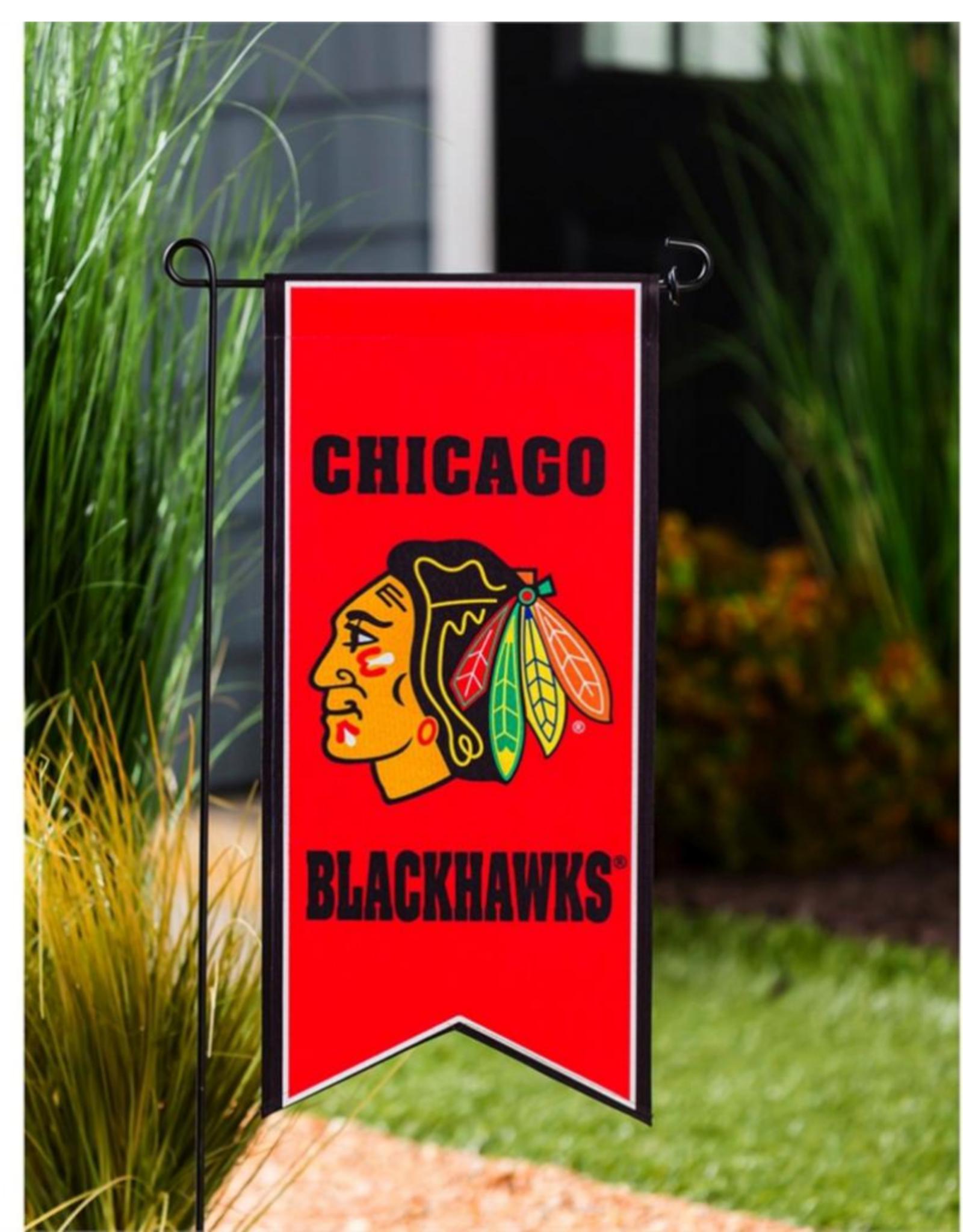 "Team Sports America NHL Flag Banner 12.5""x28"" Chicago Blackhawks"