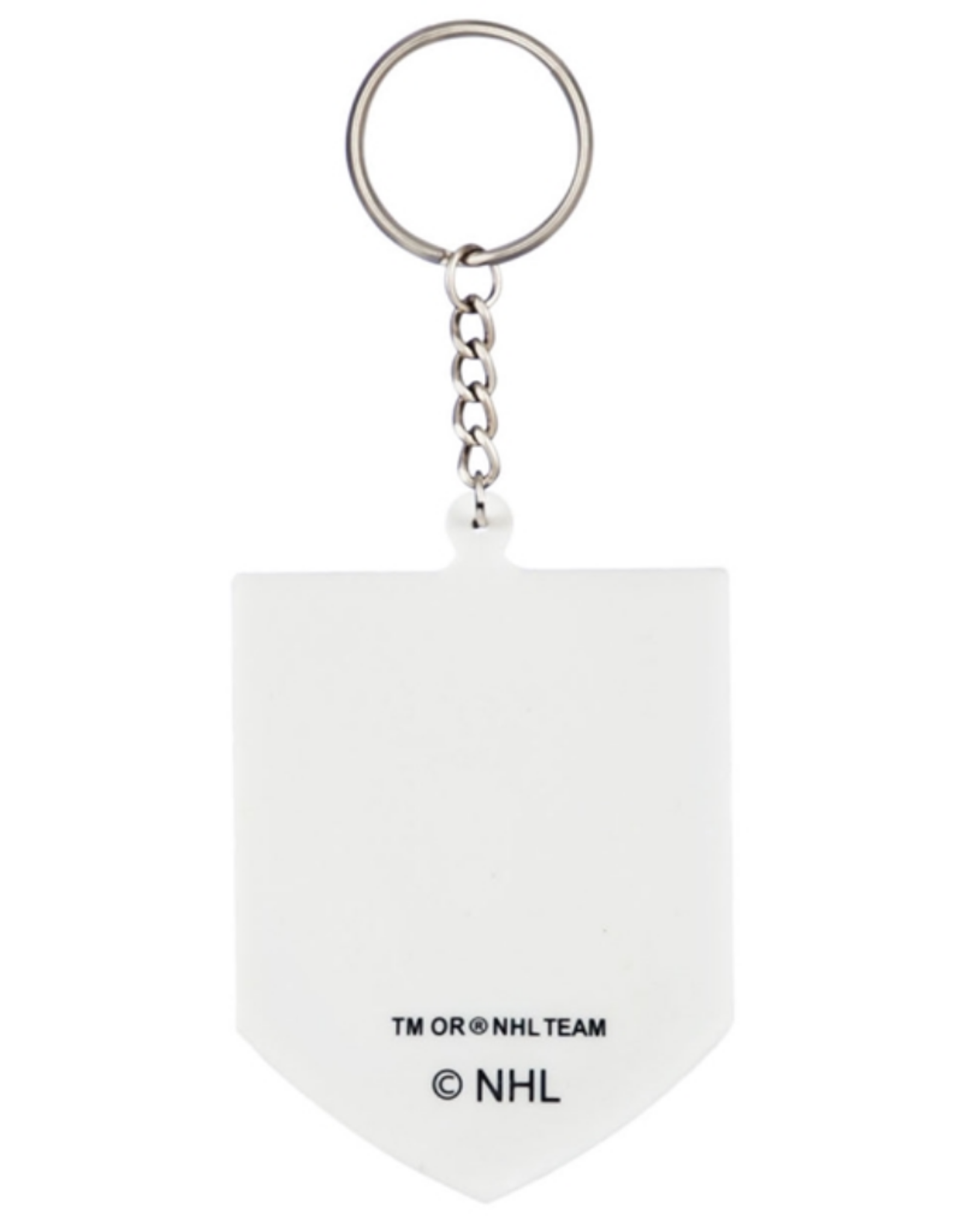 Team Sports America NHL Rubber Logo Keychain Vegas Golden Knights