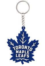 Team Sports America NHL Rubber Logo Keychain Maple Leafs