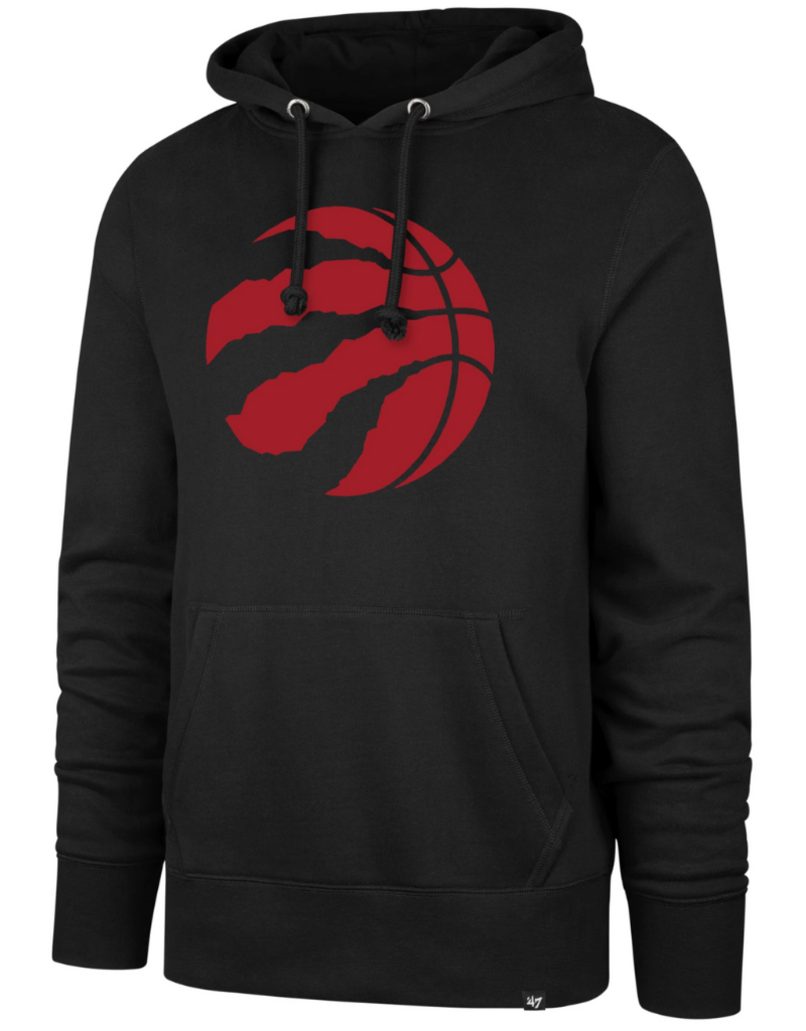 '47 Men's Imprint Headline Logo Hoodie Toronto Raptors Black