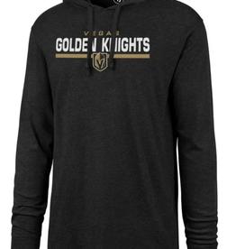 '47 Men's End Line Club Hoodie Vegas Golden Knights Black