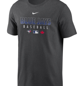 Nike Men's  Authentic Collection Team Performance T-Shirt Toronto Blue Jays Grey
