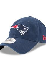 New Era Men's Core Classic TW Adjustable Hat New England Patriots Navy