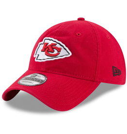 New Era Men's Core Classic TW Adjustable Hat Kansas City Chiefs Red