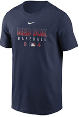 Nike Men's Authentic Collection Team Performance T-Shirt Boston Red Sox Navy